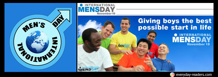Let's hear it for the boys – Help us Mark International Men's Day